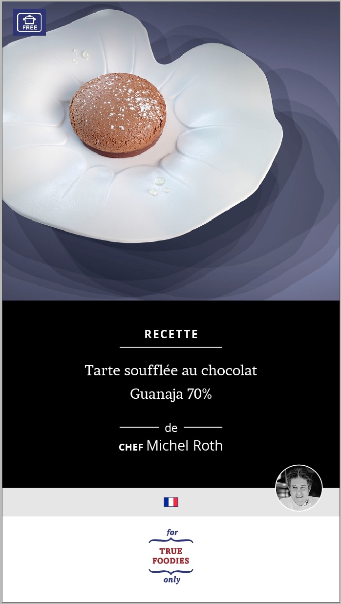 Tarte Souffle au chocolat