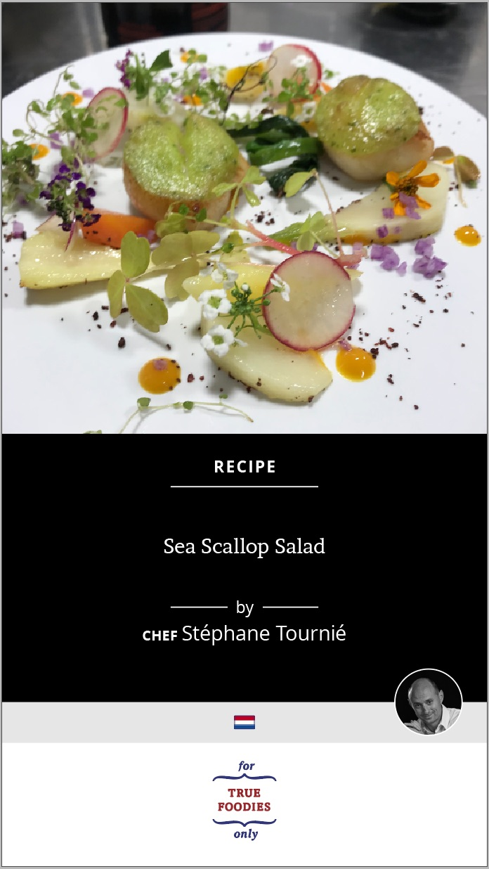 Sea Scallop Salad