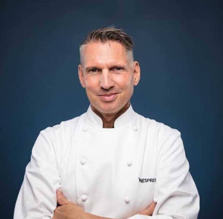 Chef Heiko Nieder - Chef of 2 Michelin Starred The Restaurant at The Dolder Grand Hotel in Zurich.