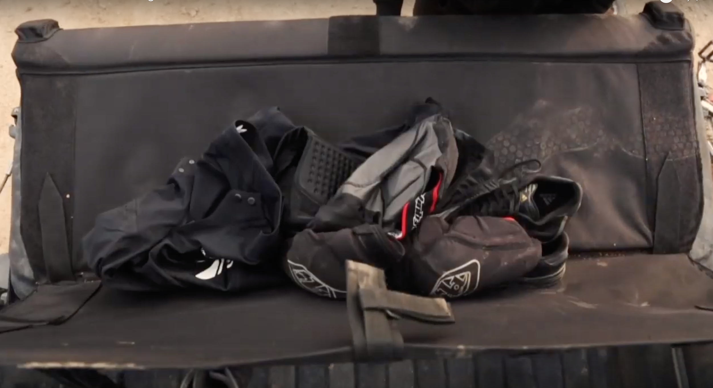 TURN YOUR TAILGATE INTO A COUCH - AND STASH YOUR STINKY GEAR WHEN YOU'RE DONE