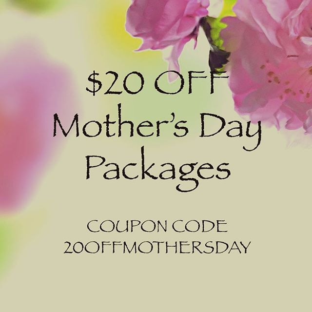 Take additional $20 off out#r Mothers Day Specials. View offer and shop online or at the store 🌸😘 #royaloakdeals #mothersdayspecial #mothersdaydeals #royaloakspa #metrodetroit  @downtown_royaloak