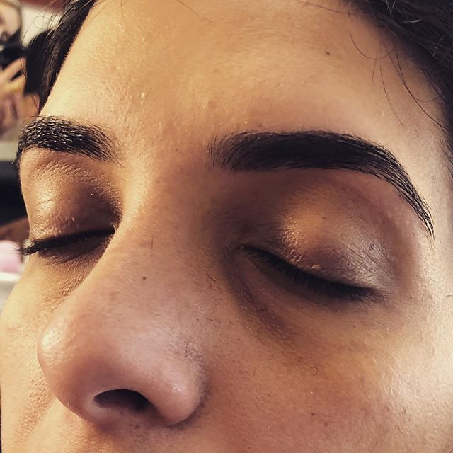 Brows by Geen #threading #waxing #tweezing #aboutface