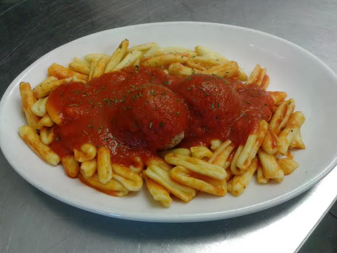 Cavatelli & Meatballs