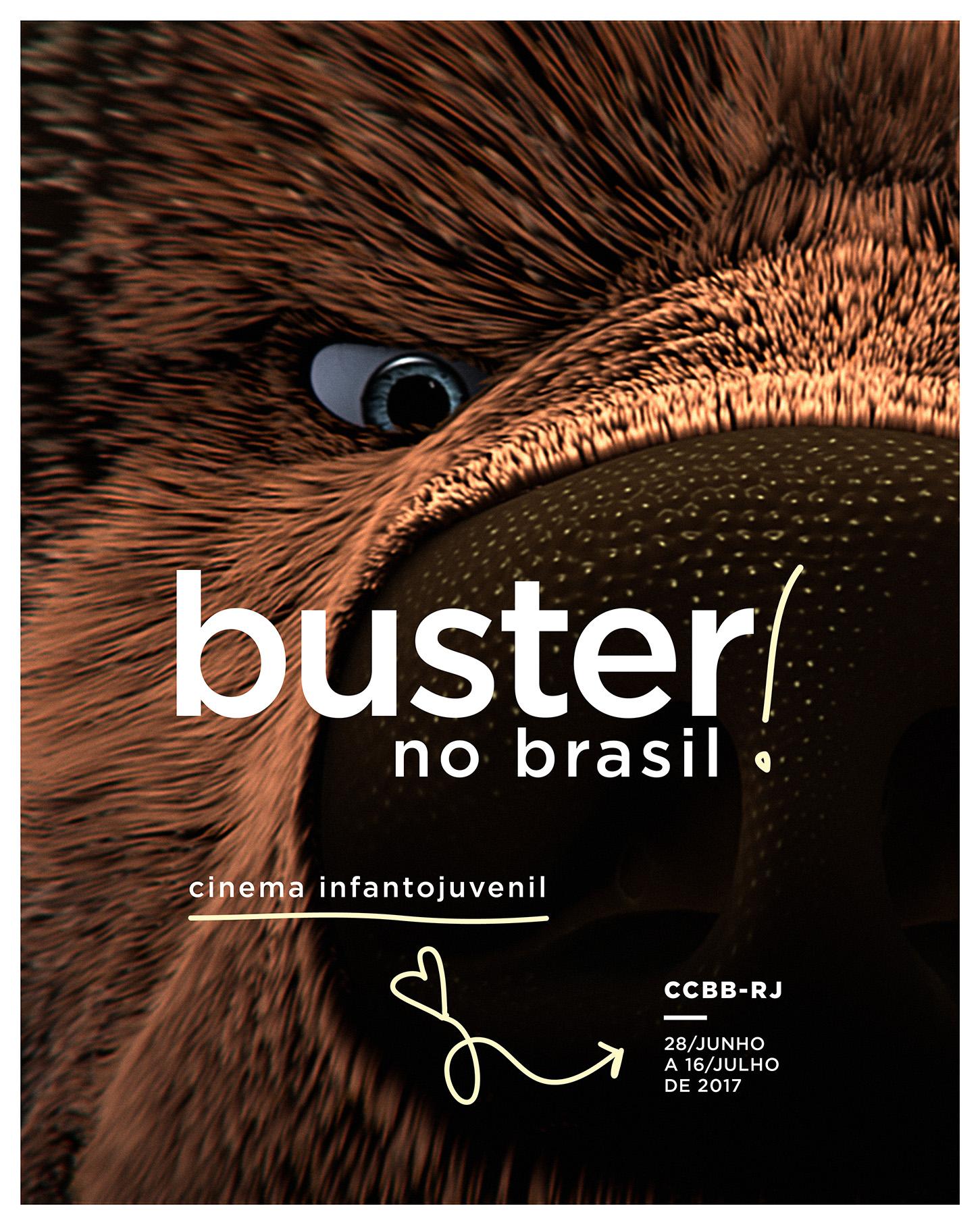 Buster no Brasil - RJ