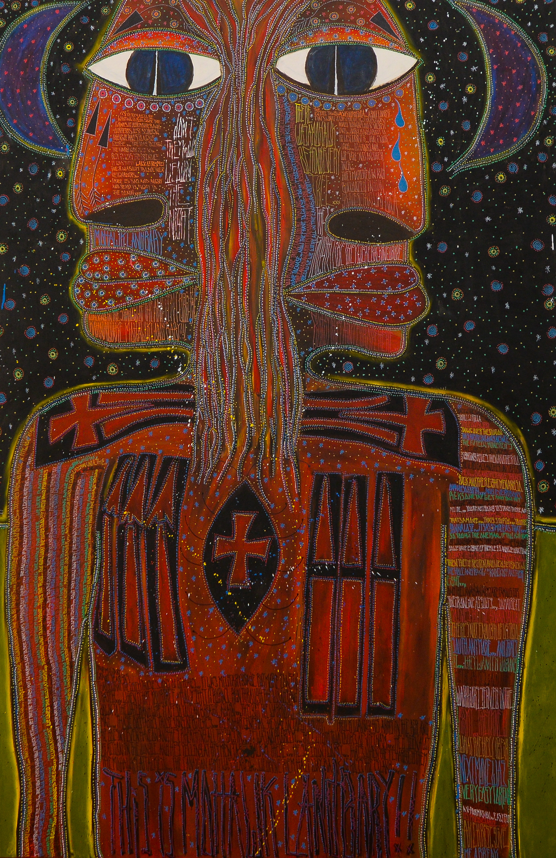 Tom Wilson painting Mohawk