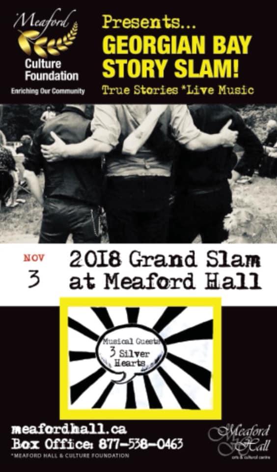 Georgian Bay Story Slam meaford hall