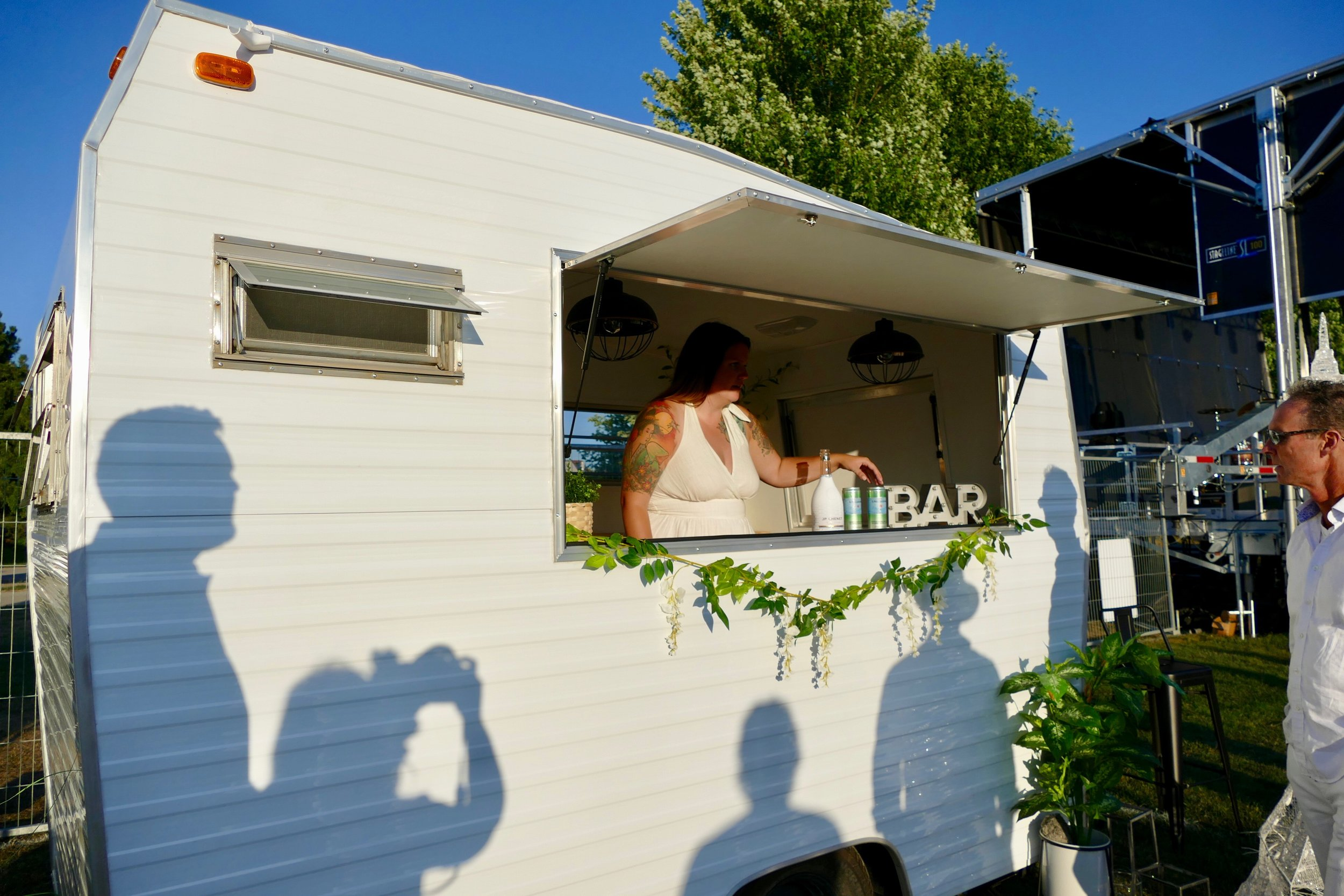 The Bea Bar (available for rent for your event!)