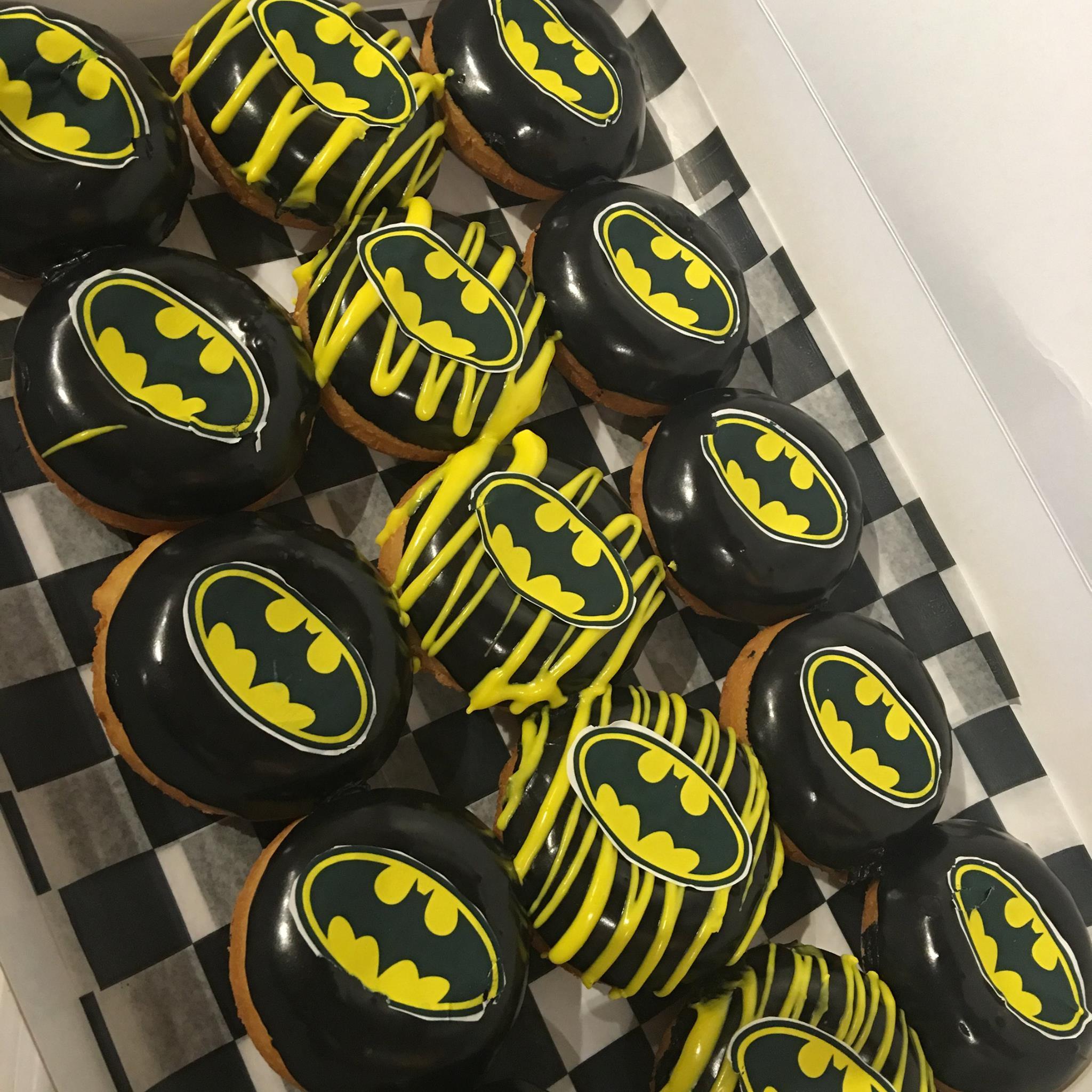 Batman Donuts | Broad Street Dough Co