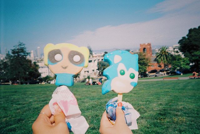 Bubbles and Sonic @ Dolores #film #35mm