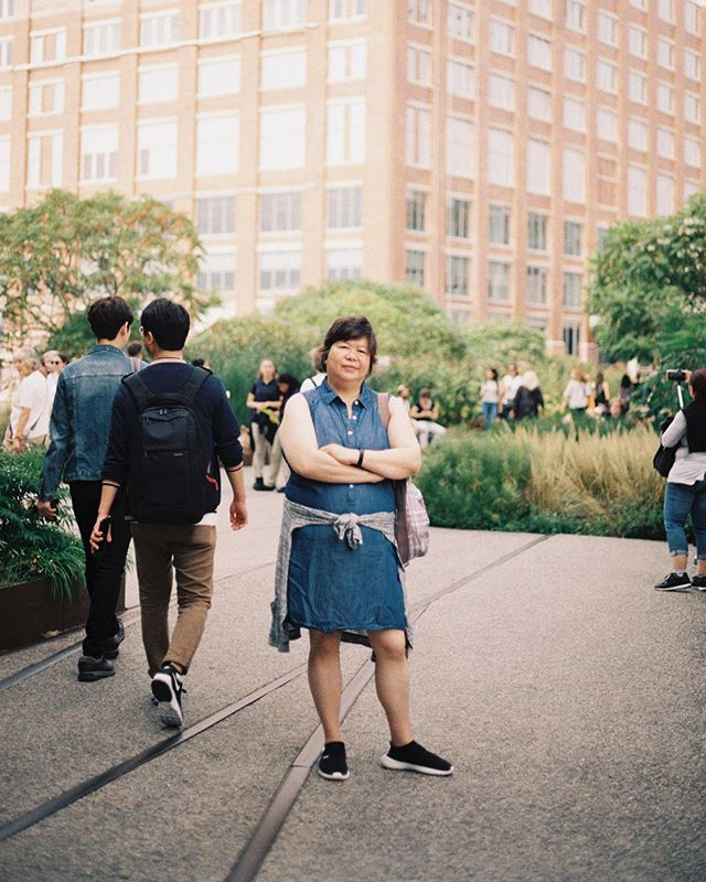 Moms are the best muse 💖 #powerpose #film #35mm