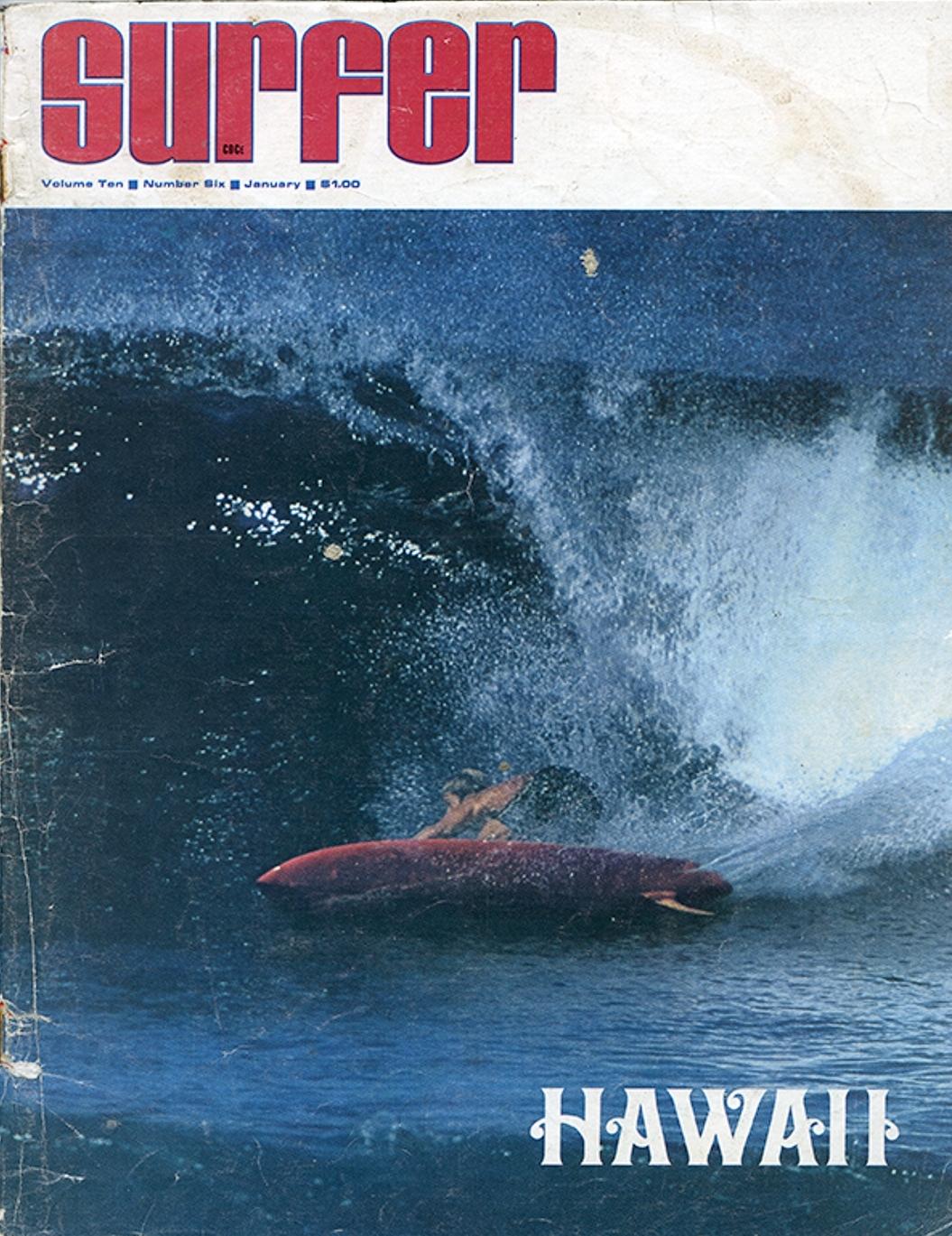 SURFER MAG 1969 JAN - MARK MARTINSON