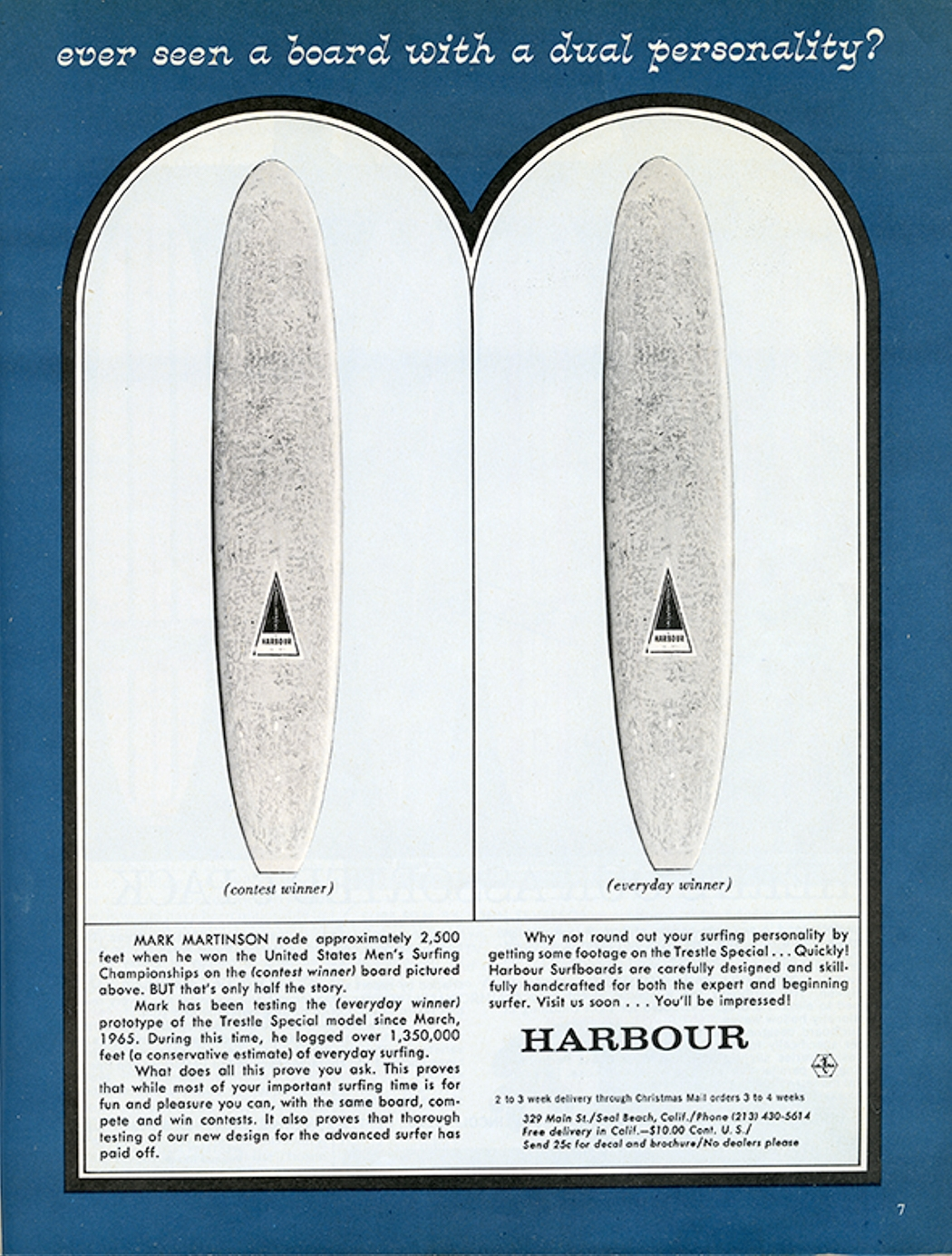 SURFER MAG 1965 JAN VOL6