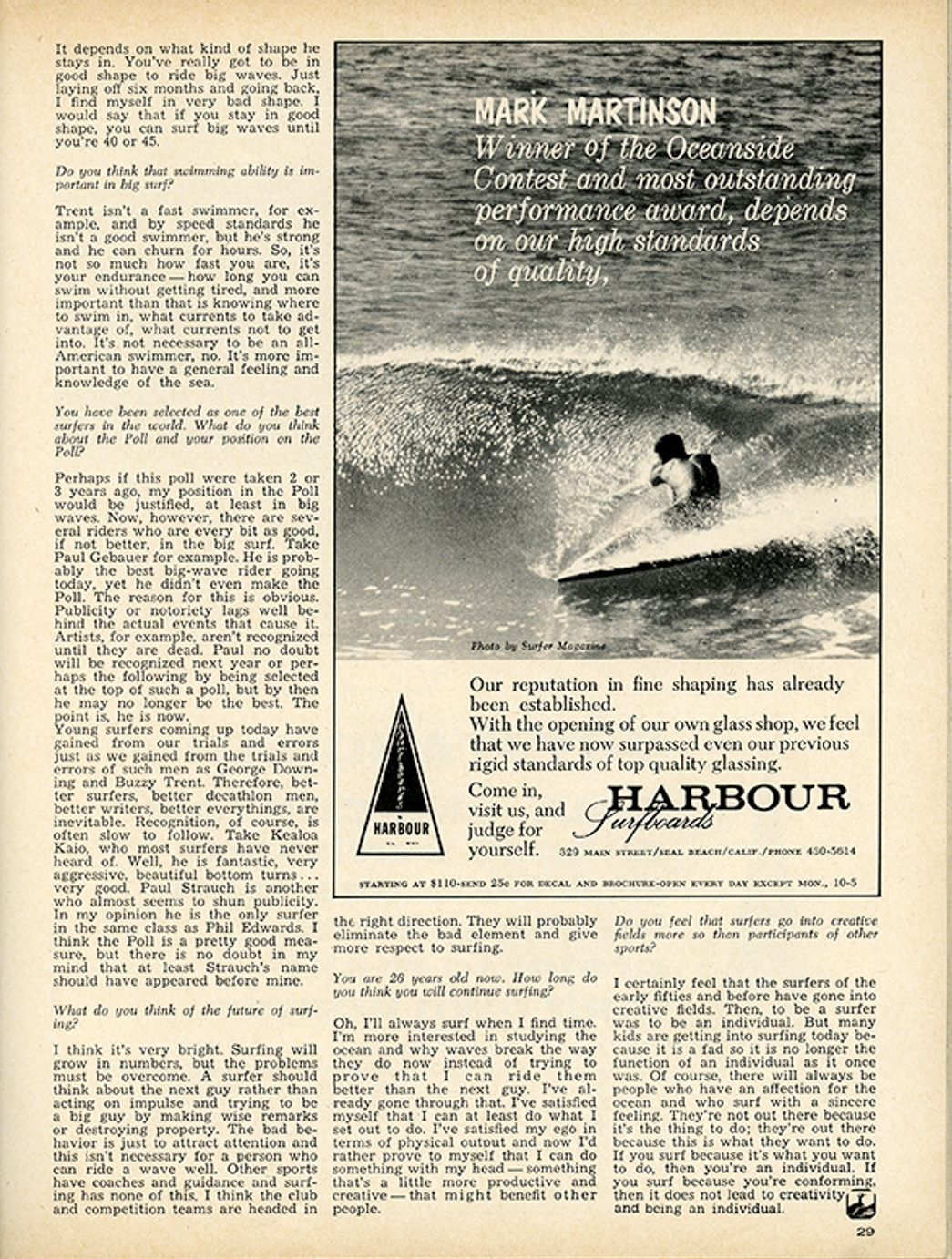 SURFER MAG 1964 FEB-MAR VOL5