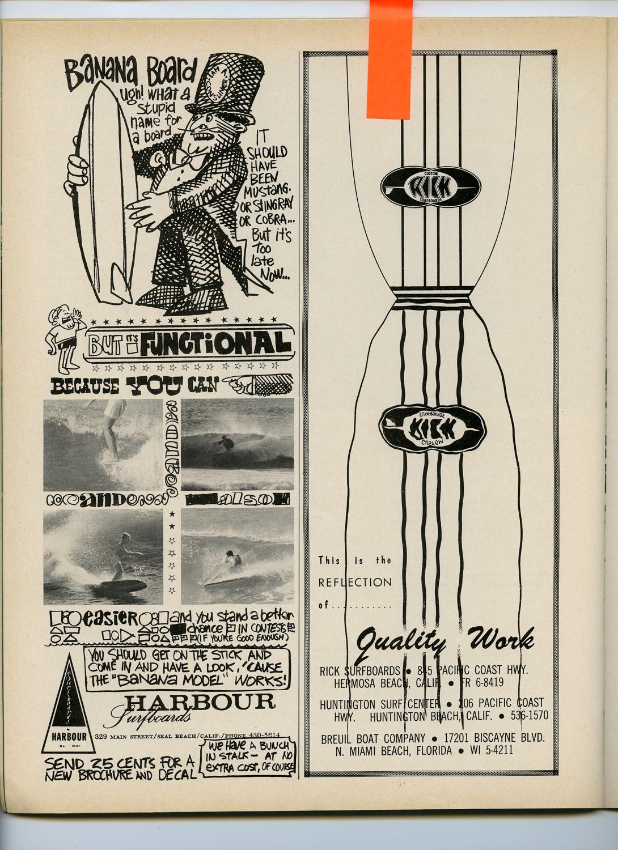 SURFER MAG 1964 AUG-SEPT VOL5