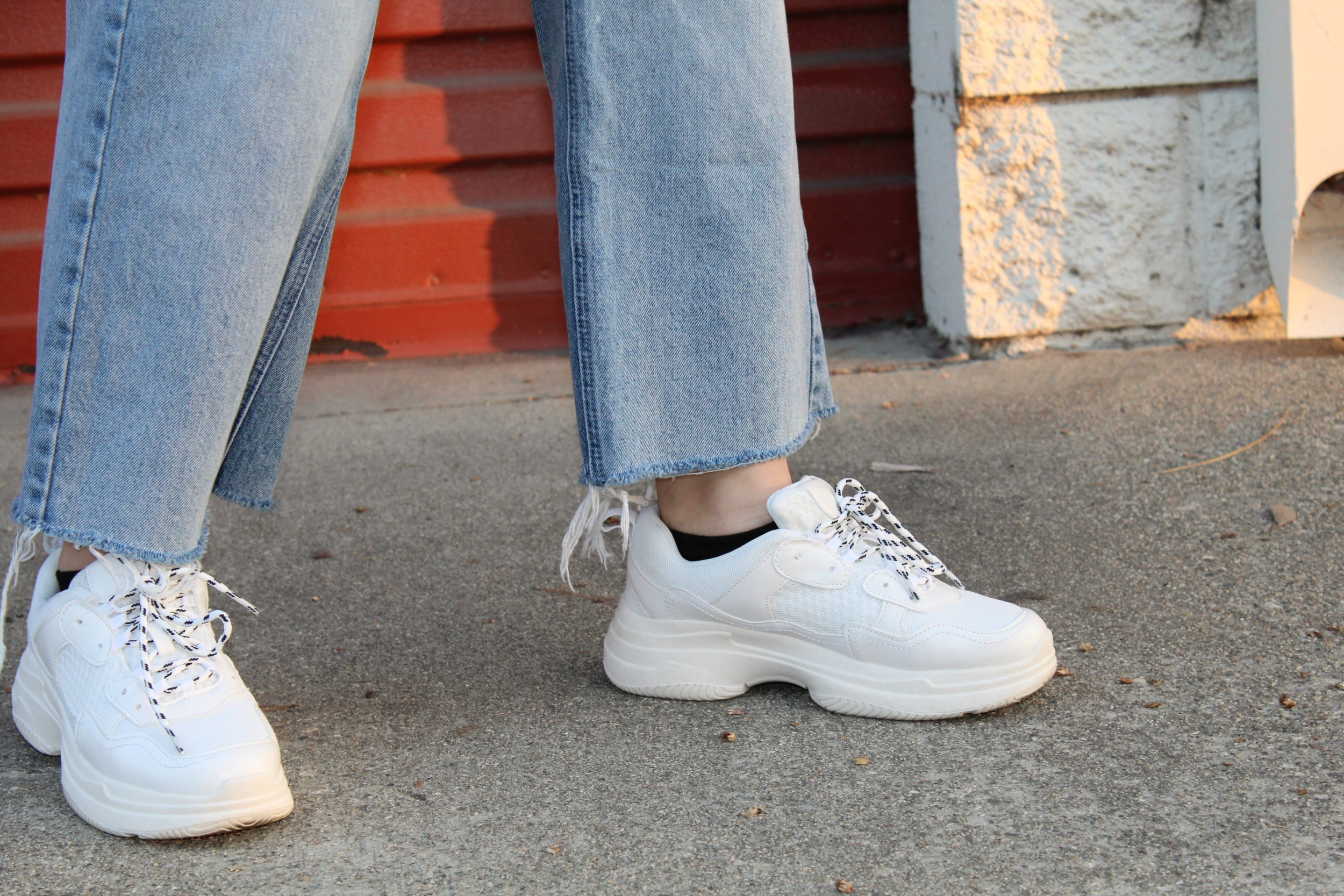 Trending: Chunky Sneakers — Malorie Wolfe