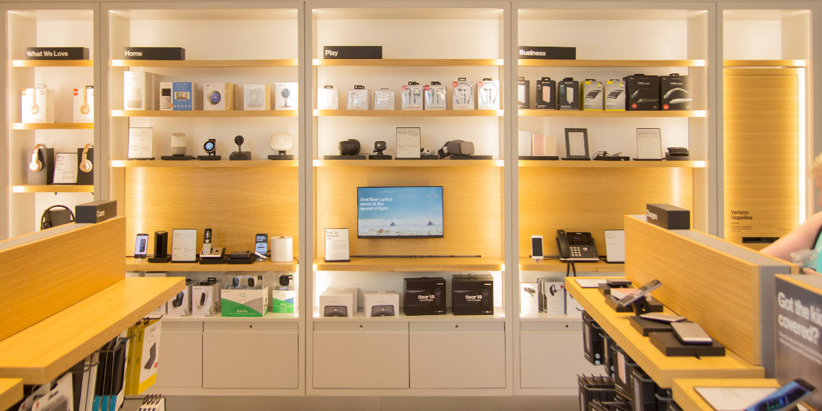 Verizon - Store of the Future