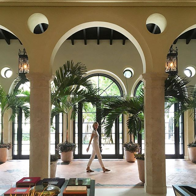 Quick site visit in Miami for an upcoming project at Art Basel this year! Took a break from the heat to check out #arch #inspiration at the beautiful Le Sirenuse Surfside. #sitevisit #arches #architecture #hospitality #space #lush #interior #artbasel #designmiami #lesirenuse #art #miami #surfside