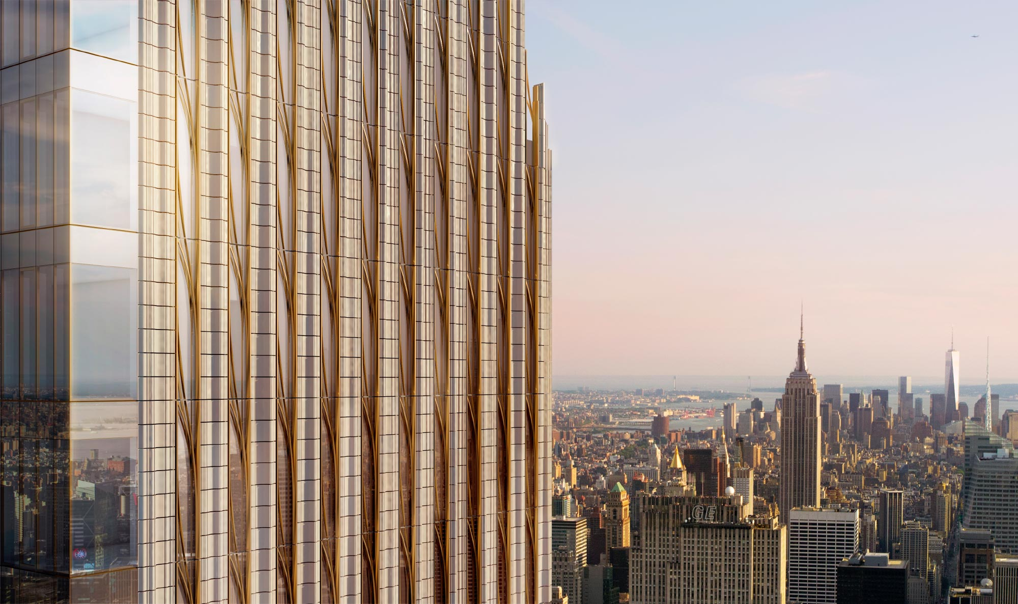 111 W 57th St - How can we use lighting design to give life to a new feminine and ephemeral presence within the otherwise masculine skyline of Manhattan?