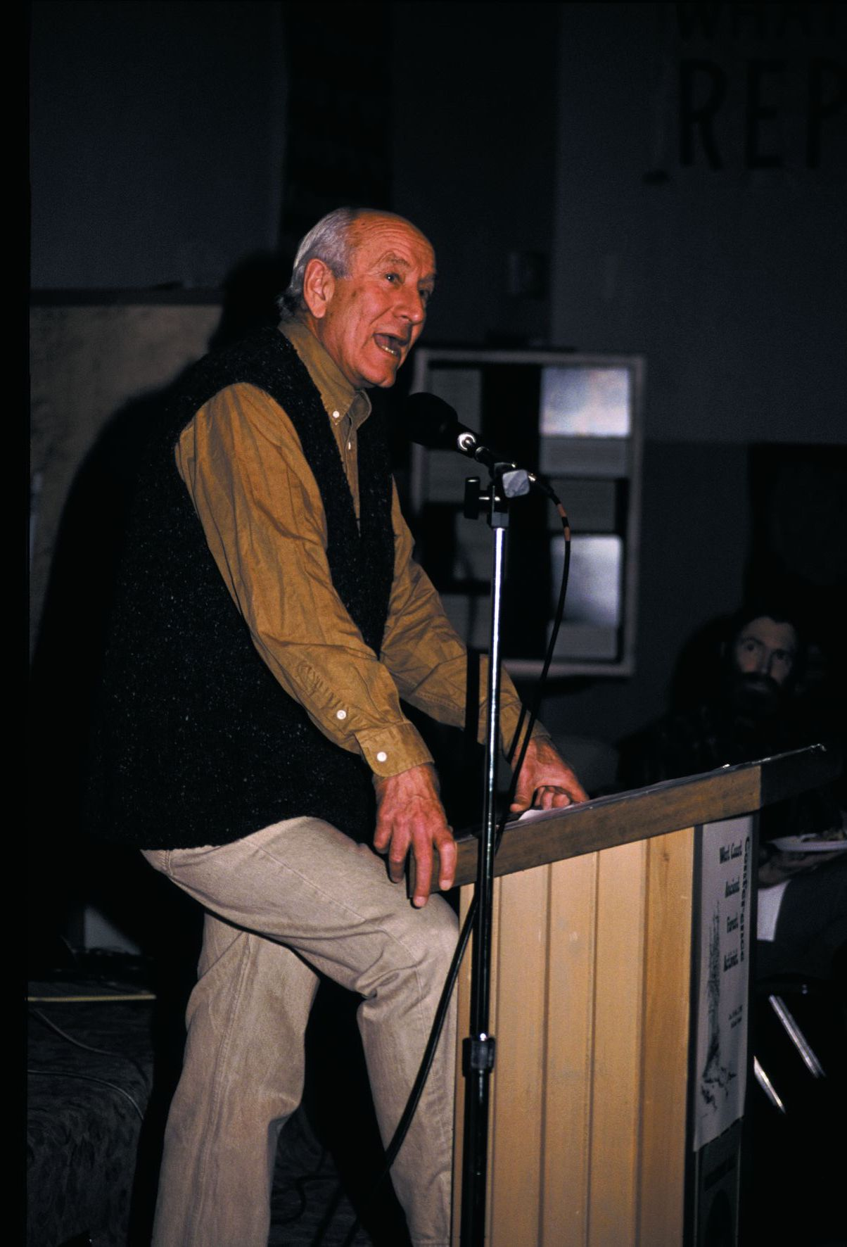 Jim Weaver, Oregon conservationists (ca early 1990s).  Source: Elizabeth Feryl, Environmental Images