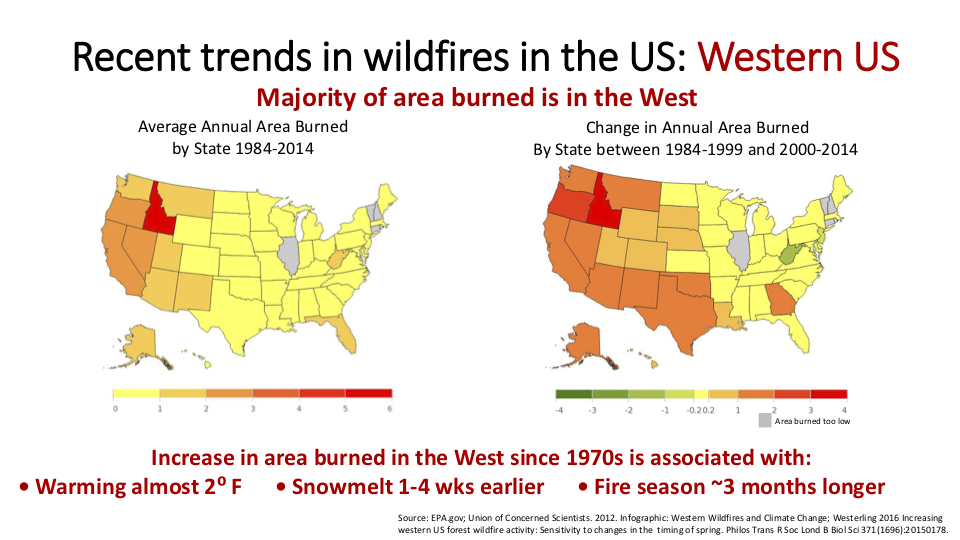 Figure 5.  If you don't like wildfire, there's always Illinois, Vermont, New Hampshire, or Rhode Island.