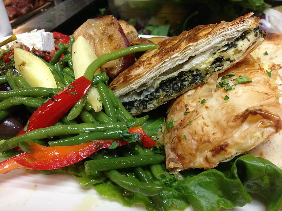 Greek Vegetable Platter