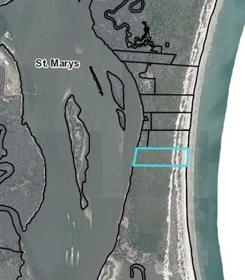Lumar llc Tract outlined in Blue