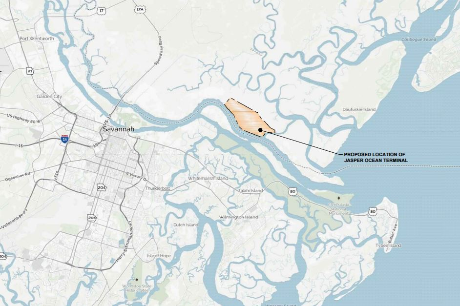 Jasper Ocean Terminal Map.JPG