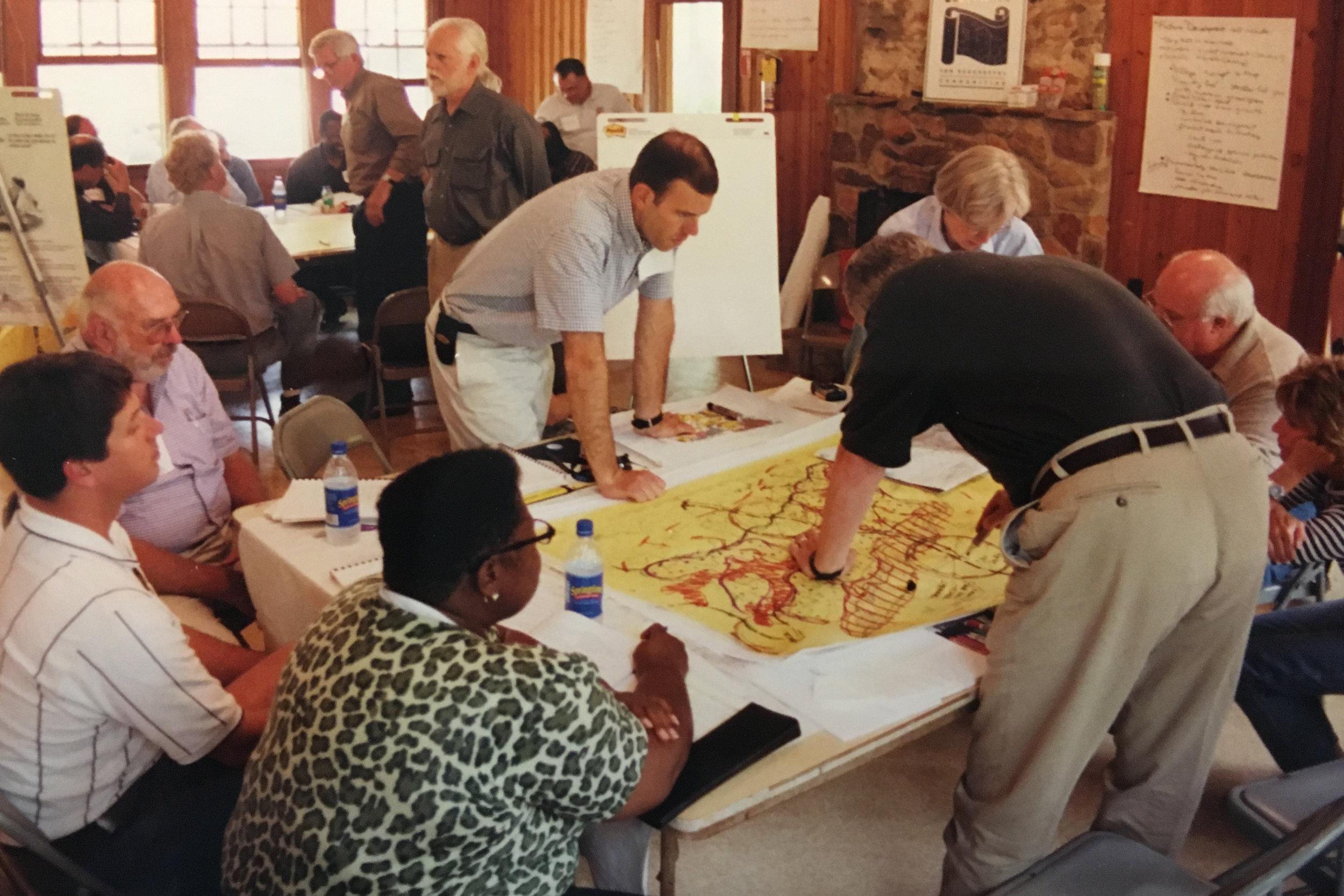 Ocmulgee River Corridor Blueprints
