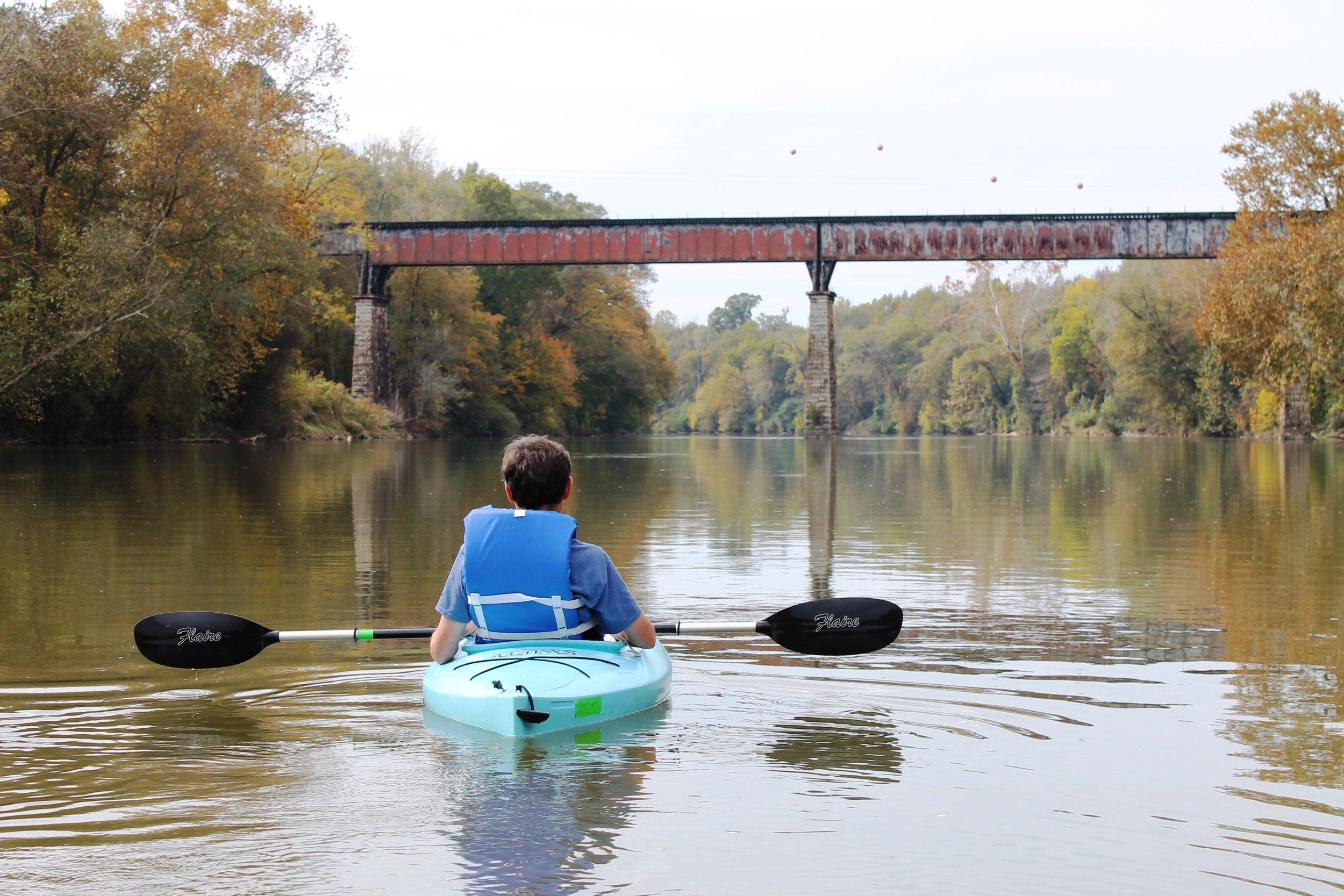 Chattahoochee River Shoals, Near Chattahoochee Bend State Park