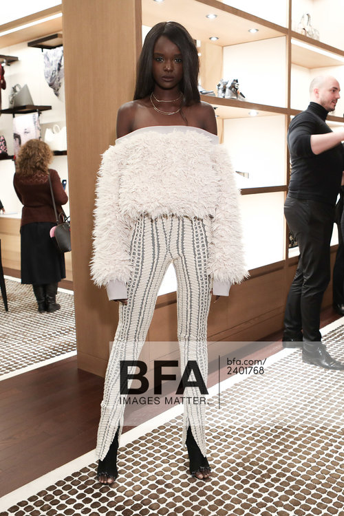 "Styled by Me in Full Laquan Smith  Nyadak ""Duckie"" Thot, Coach Event NYC"