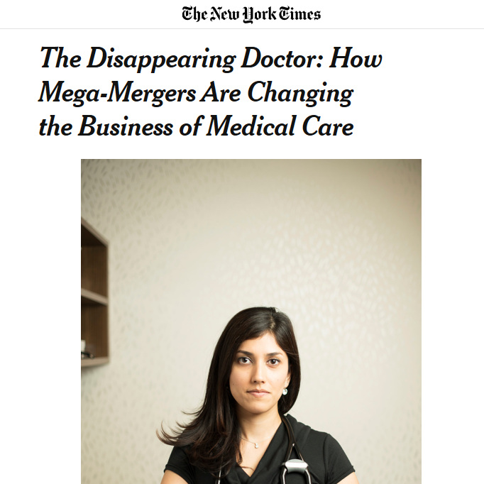 Merchant Medicine In the News - Check out our articles and references in the New York Times, Wall Street Journal, Forbes, and many others.