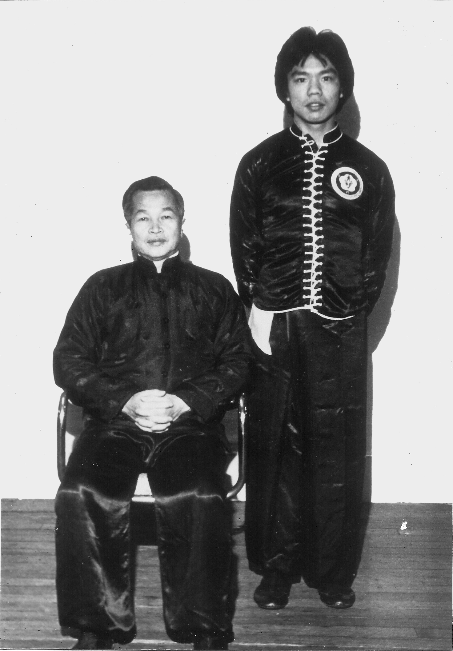 Kwong Tit Fu (seated) and Calvin Chin