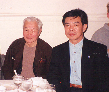 Kwong Tit Fu (left) and Calvin Chi