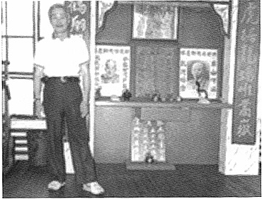 Kwong Tit Fu at his first school in Boston's Chinatown