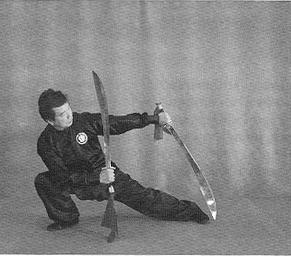 Plum Flower Double Dragon Sword