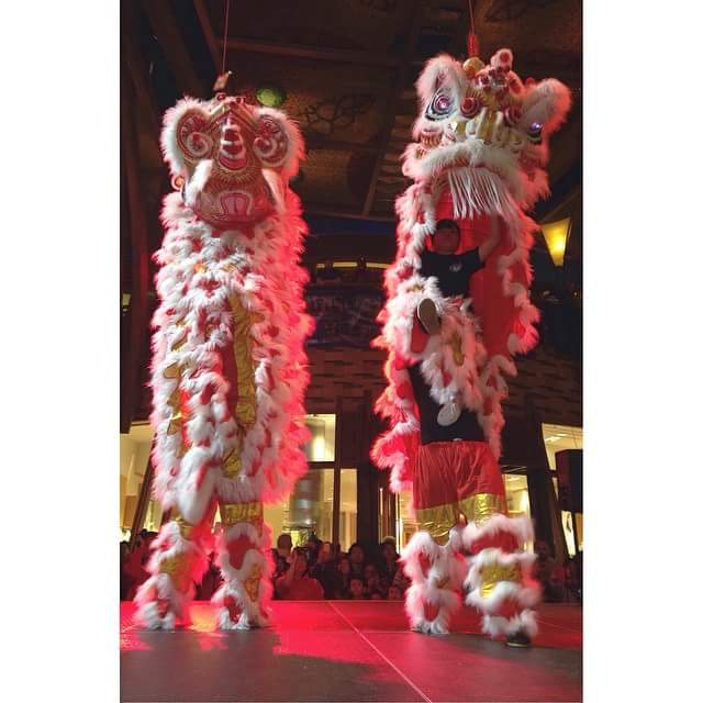 Lion Dance performance at Mohegan Sun