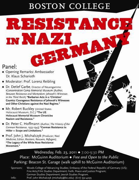 2011 Resistance in Nazi Germany