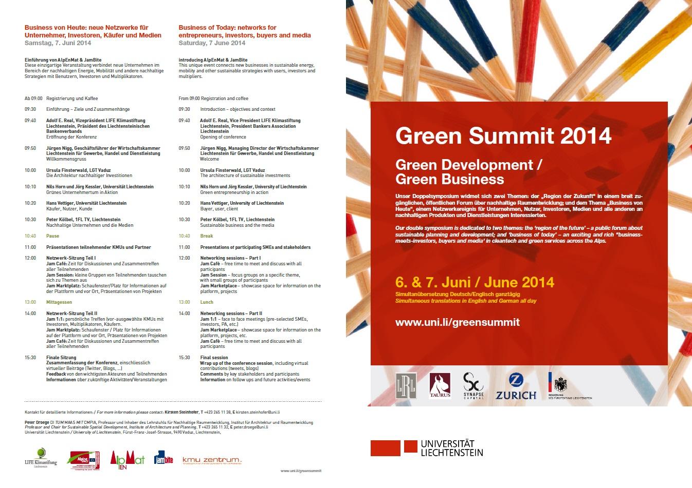 Green Summit 2014