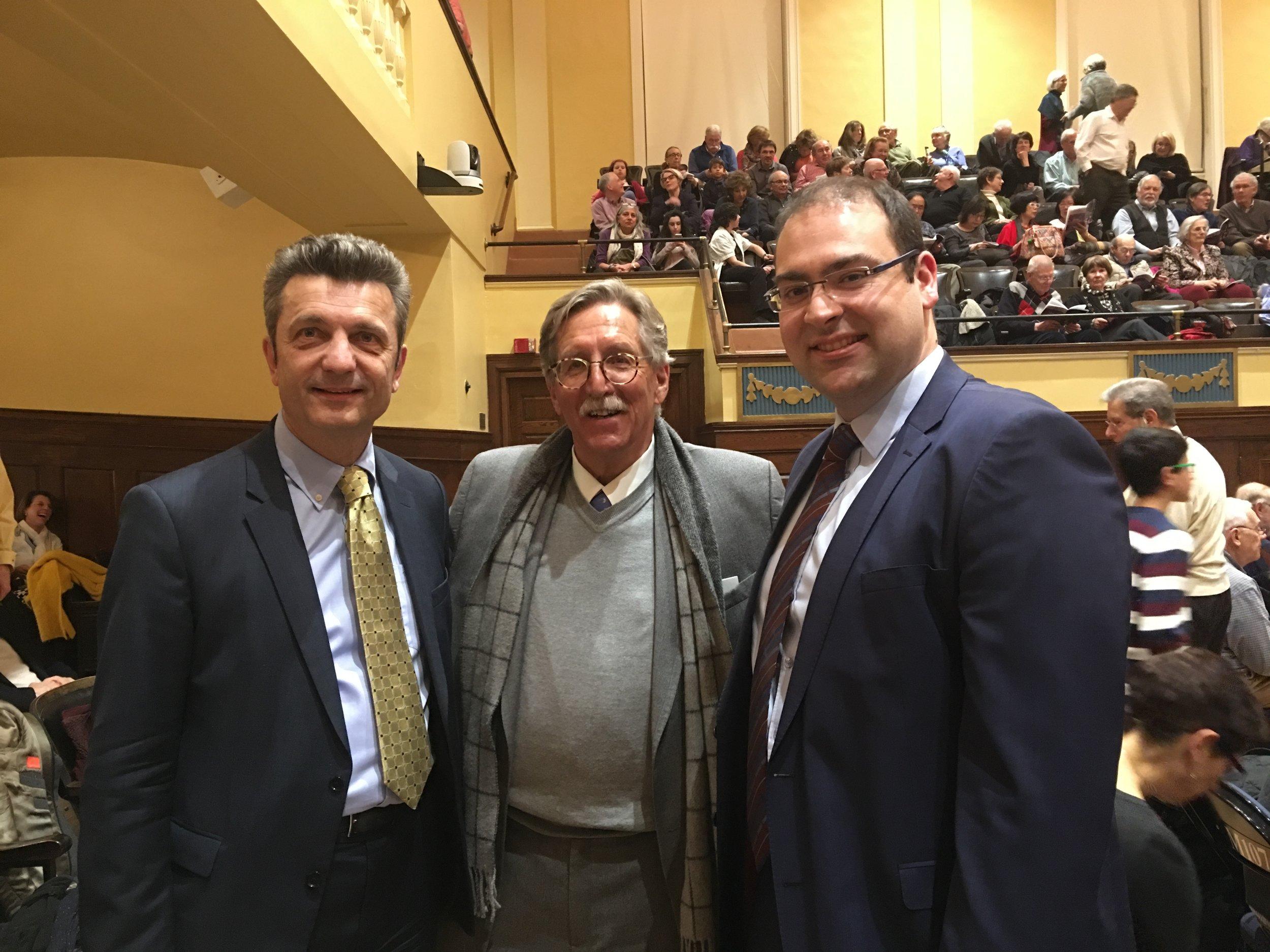German Consul General Dr. Ralf Horlemann, Lorenz Reibling, Baris Perker