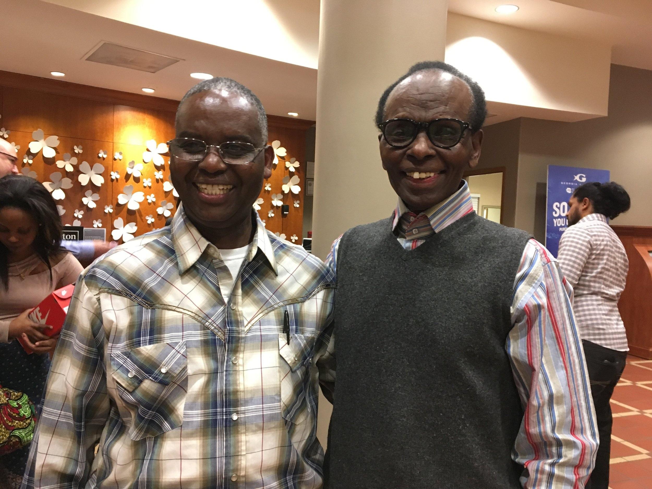 Charles Rutaganira and Tharcisse Seminega