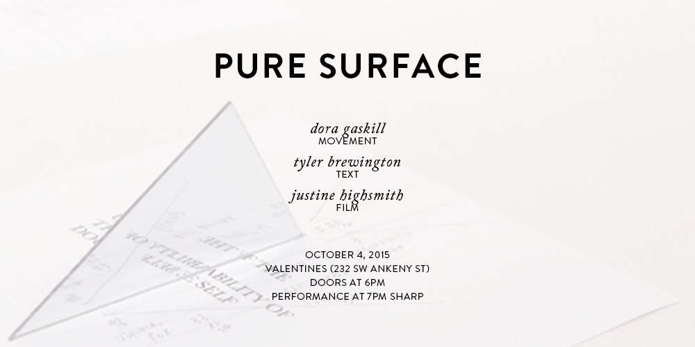 Pure Surface at Valentines
