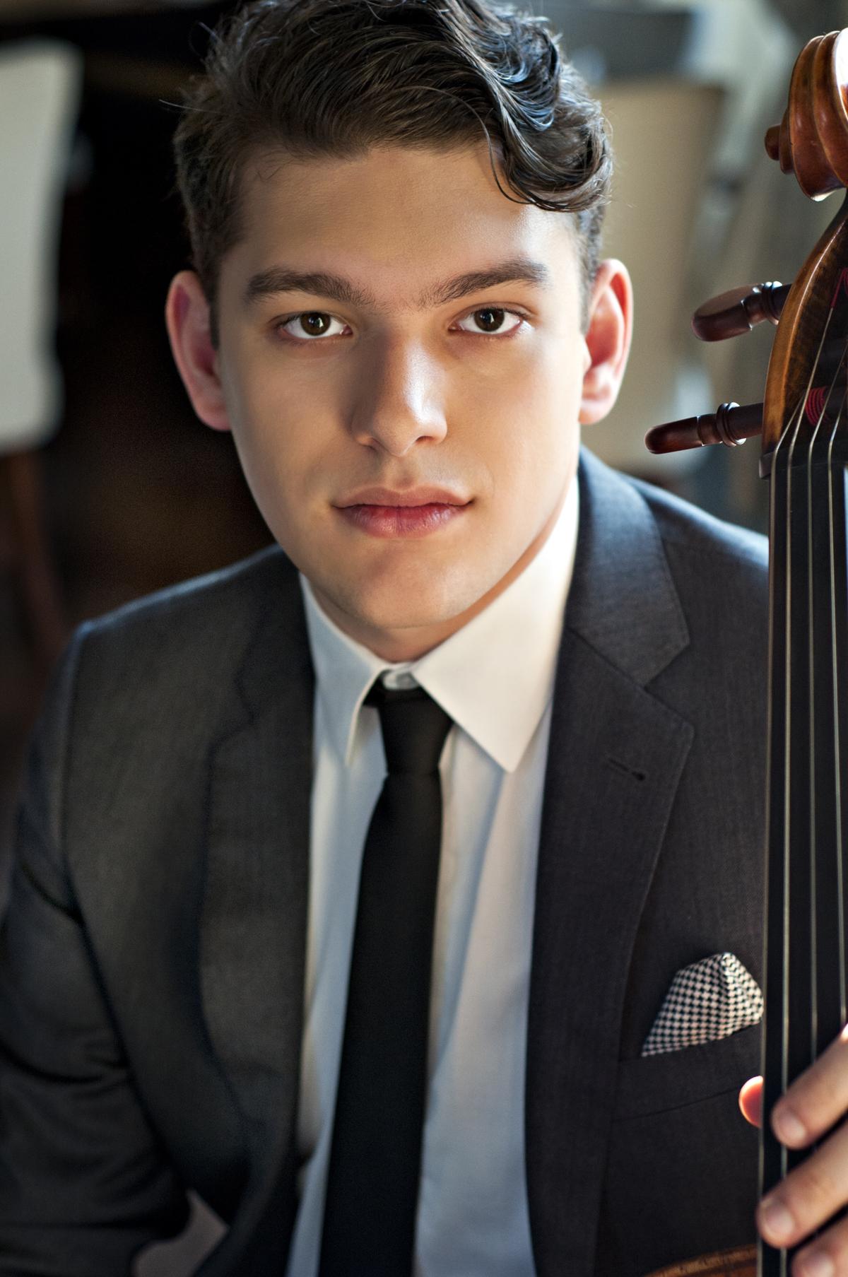 Gabriel Cabezas, cello and Astral Artist