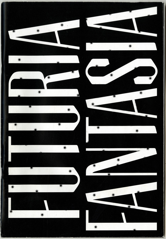"Zine design of Ray Bradbury's earliest work, ""Furturia Fantasia""."