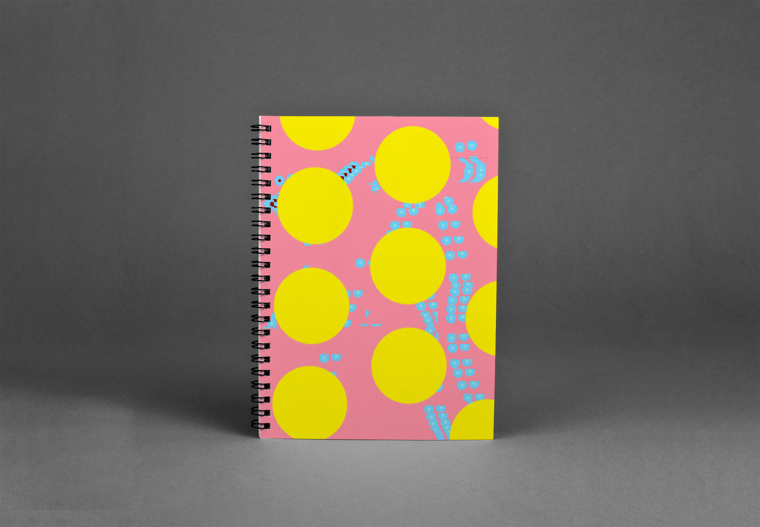 Notebook cover designs drawn exclusively in Microsoft Paint and Paintbrush (Mac's MS Paint). Future plans to expand into school supplies line.