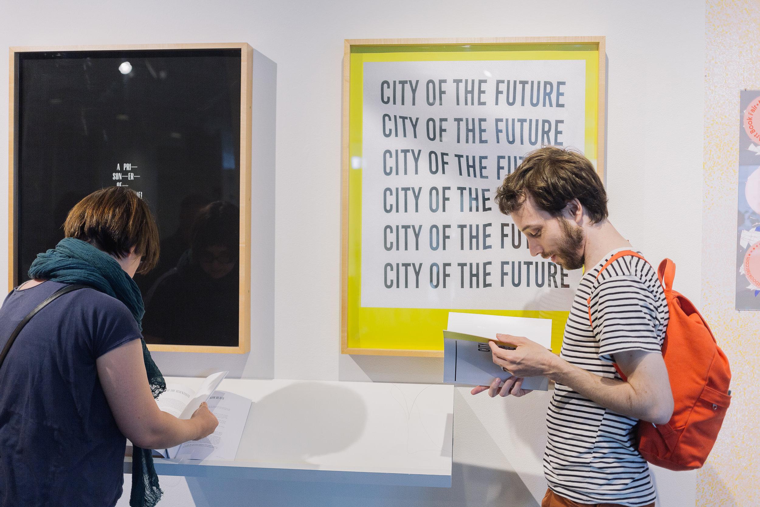 Senior design show at Minneapolis College of Art & Design.