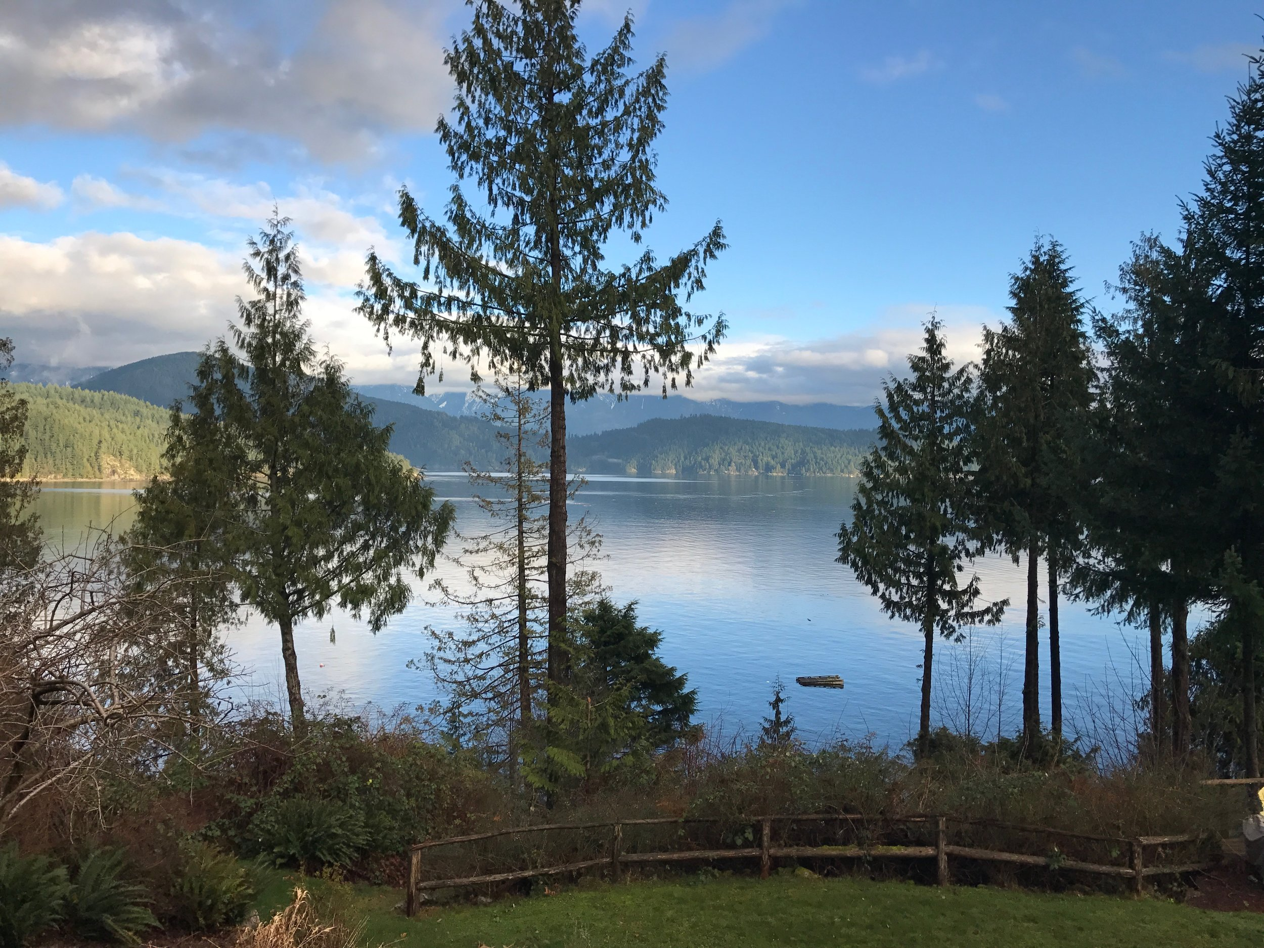 View from the Gambier Retreat House ~ Photo Gallery at bottom of page