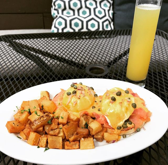 Start your day right with a smoked salmon benny and $4 mimosas every Saturday and Sunday 11-3pm.  Enjoy them on our Patio before the summer season departs...