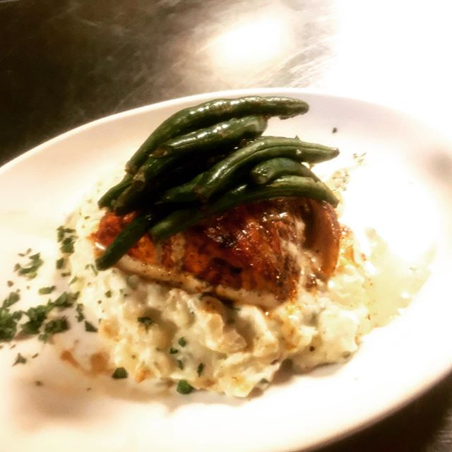 Start your Holiday weekend with some blackened salmon.  Our normal hours resume tonight!