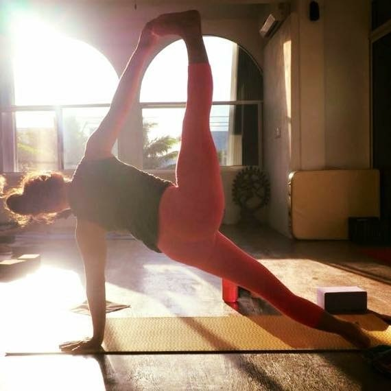 Melissa Joy Schoeller runs yoga-ski program at Maplelag Resort