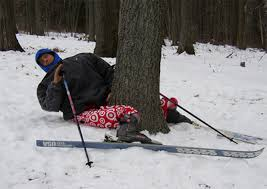 Warm up, ski safe, and avoid obstacles